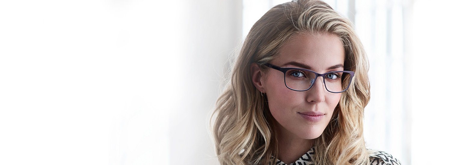 Woman in glasses by Advanced-Family-Eyecare